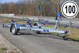 <strong>P750H</strong> Bootstrailer 750 kg für Boote bis 5 m